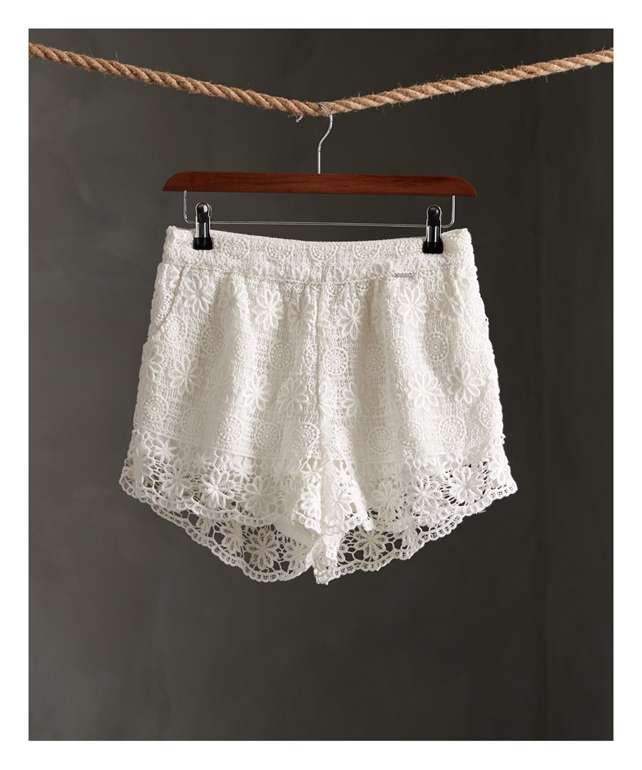 Image for Superdry Morgan Lace Shorts