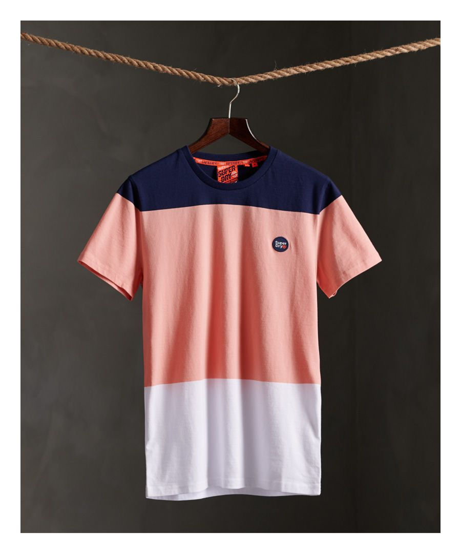 Image for Superdry Organic Cotton Collective Colour Block T-Shirt
