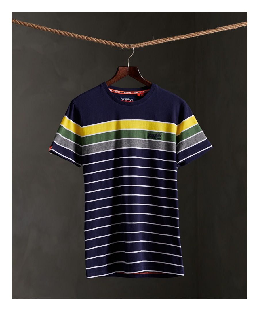 Image for Superdry Organic Cotton Breton Stack T-Shirt