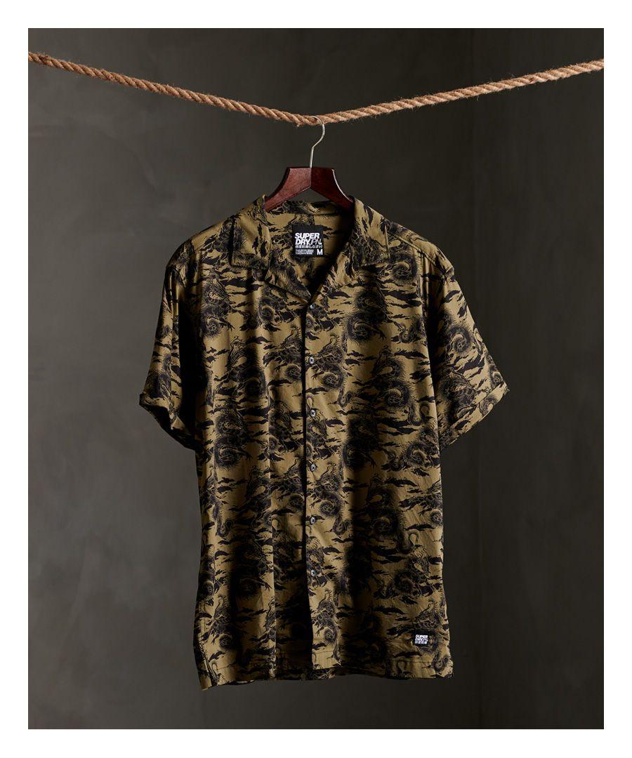 Image for Superdry Short Sleeve Hawaiian Box Fit Shirt