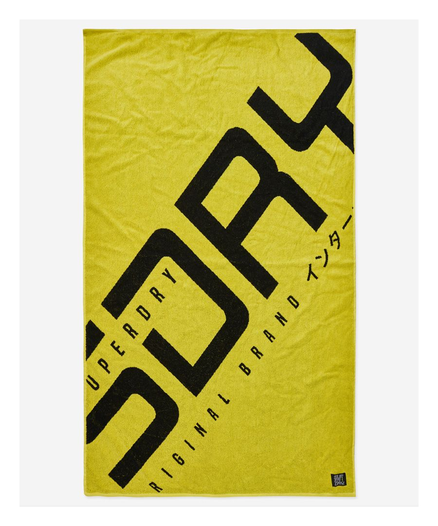 Image for Superdry Hyper Logo Beach Towel