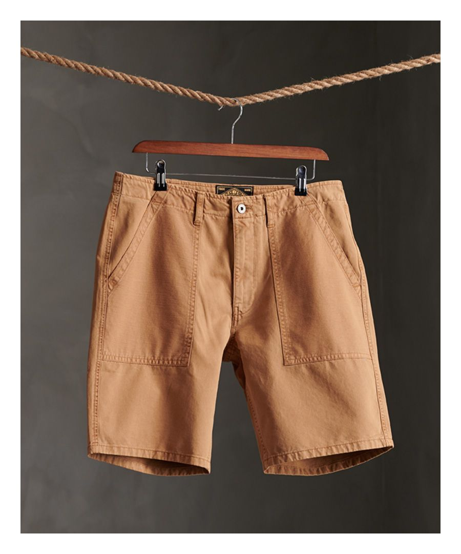 Image for Superdry Canvas Fatigue Shorts