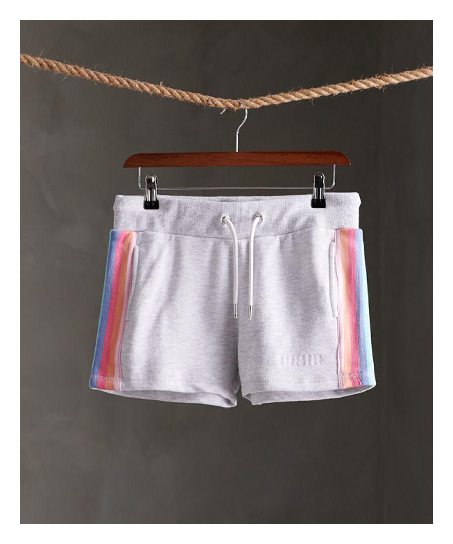 Image for Superdry Rainbow Straight Hem Shorts