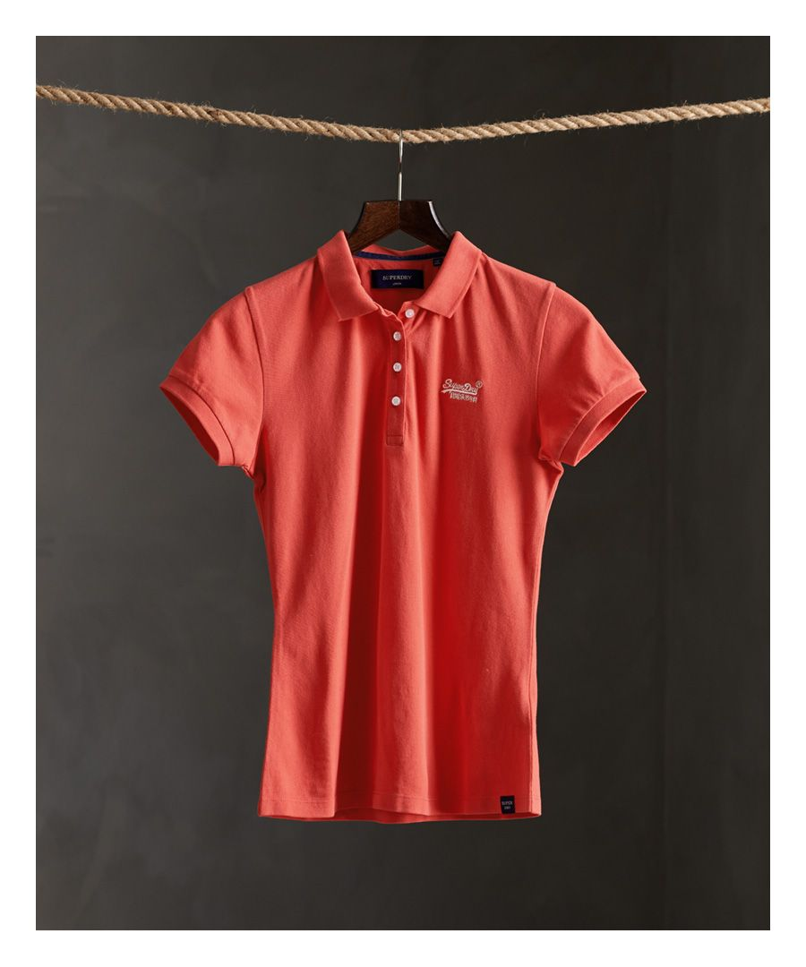 Image for Superdry Organic Cotton Polo Shirt