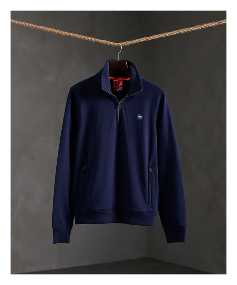 Image for Superdry Collective Half Zip Track Top