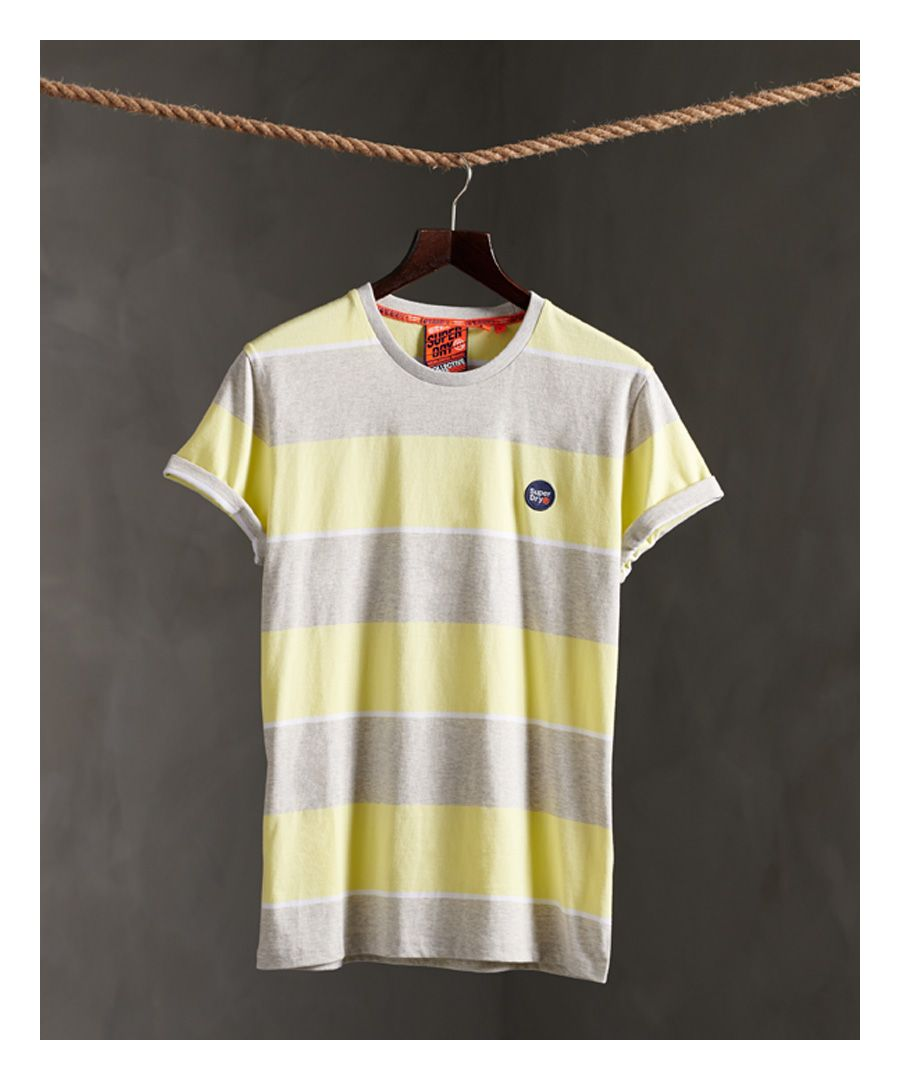 Image for Superdry Organic Cotton Collective Stripe T-Shirt