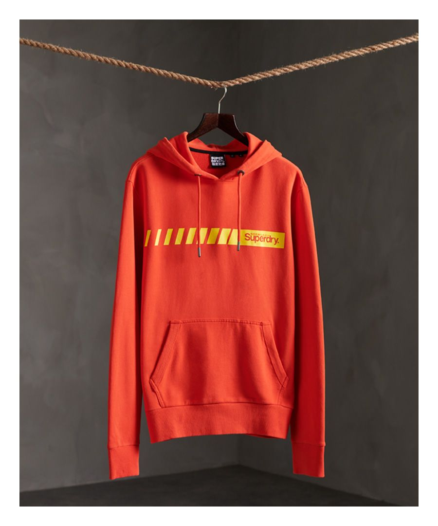Image for Superdry Core Logo Sport Stripe Hoodie
