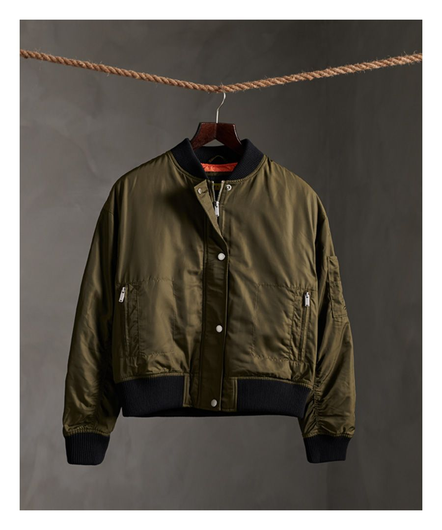 Image for Superdry Modern Utility Bomber Jacket