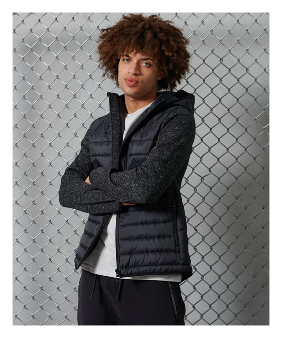 Image for Superdry Storm Hybrid Zip Up Hooded Jacket