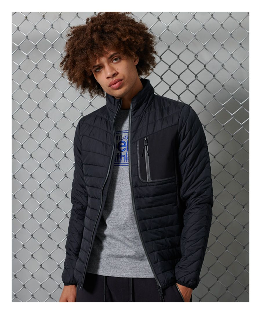 Image for Superdry Convection Hybrid Non Hooded Jacket