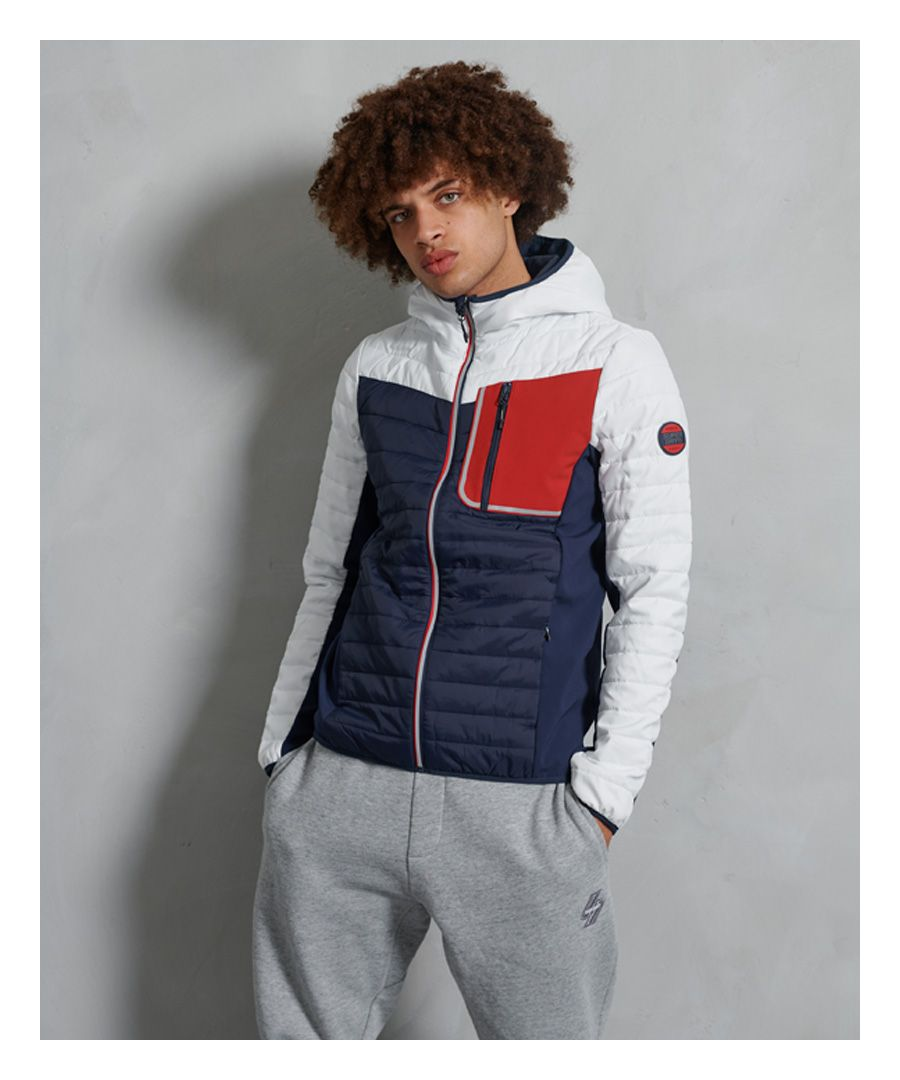 Image for Superdry Convection Hybrid Jacket