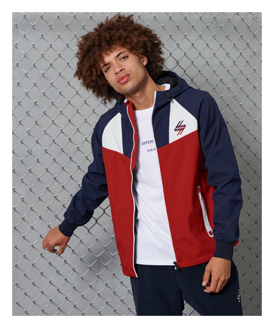 Image for Superdry Echo Beach Colourblock Jacket