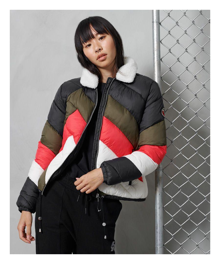 Image for Superdry Splice Padded Jacket