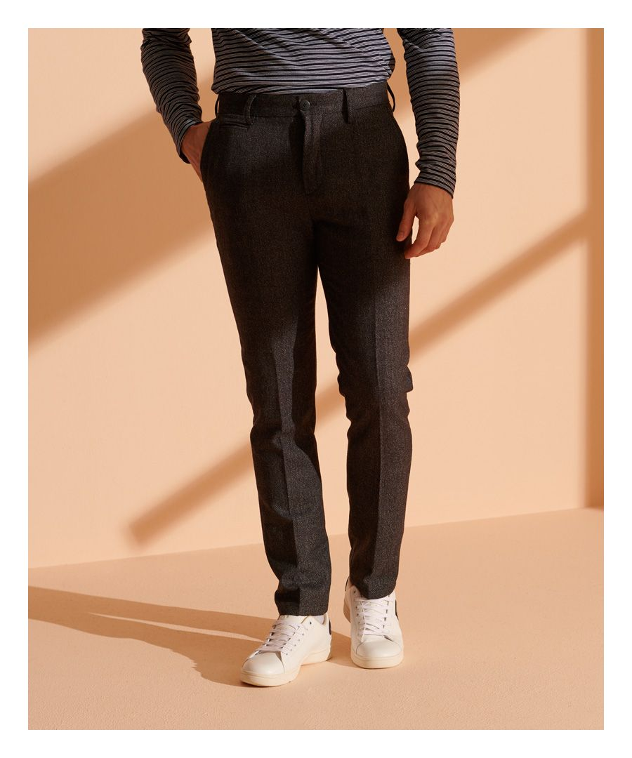 Image for Superdry Core Wool Slim Chinos