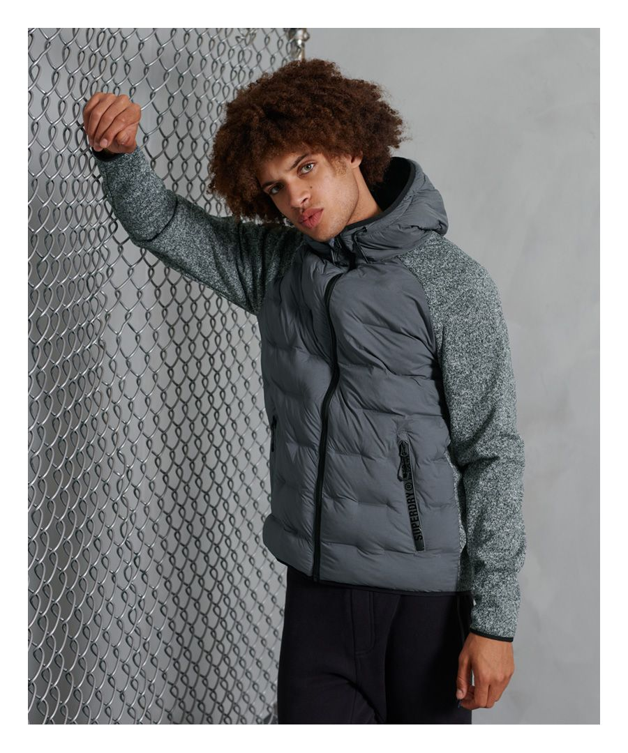 Image for Superdry Sonic Hybrid Zip Through Jacket