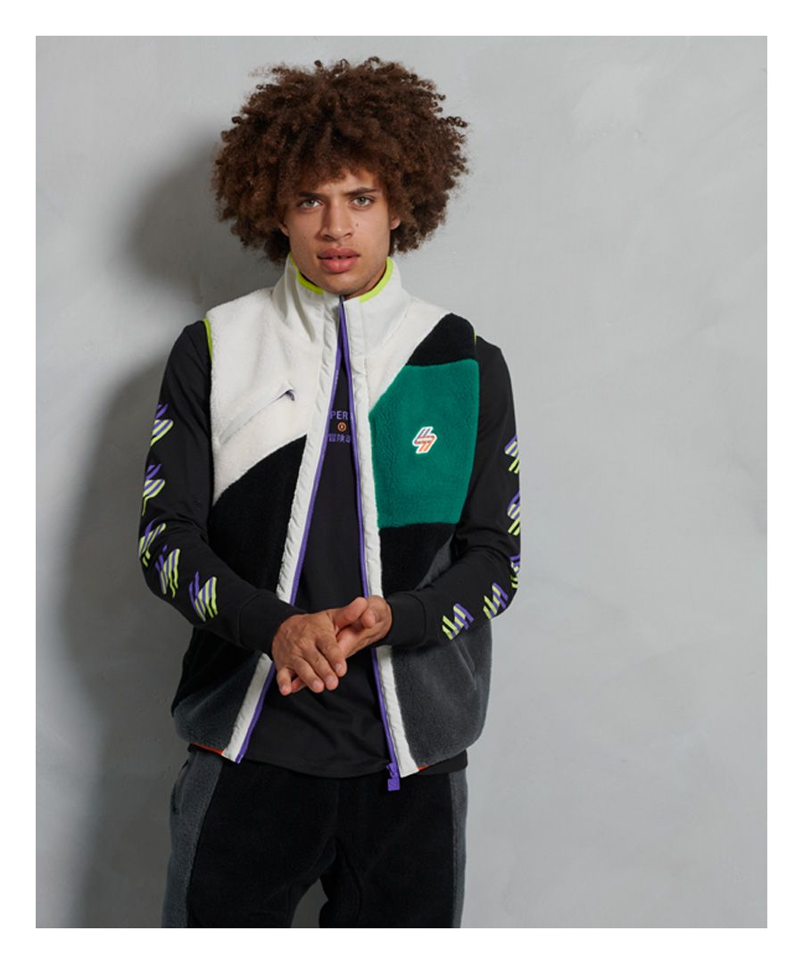 Image for Superdry Sportstyle Energy Sherpa Gilet