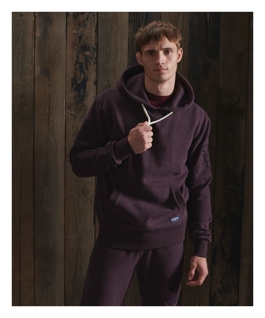 Image for Superdry Track & Field Embroidered Hoodie