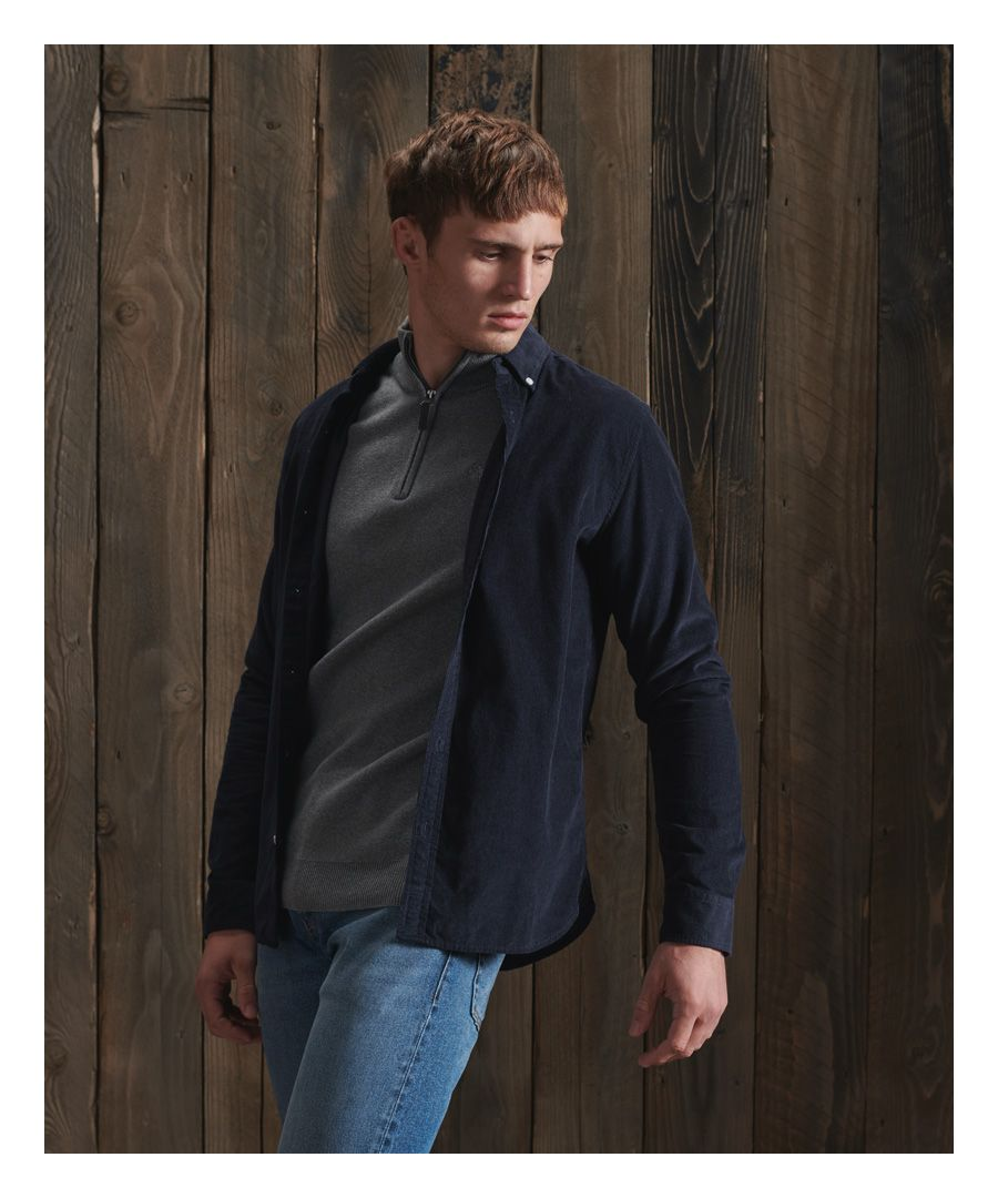Image for Superdry Classic Corduroy Shirt