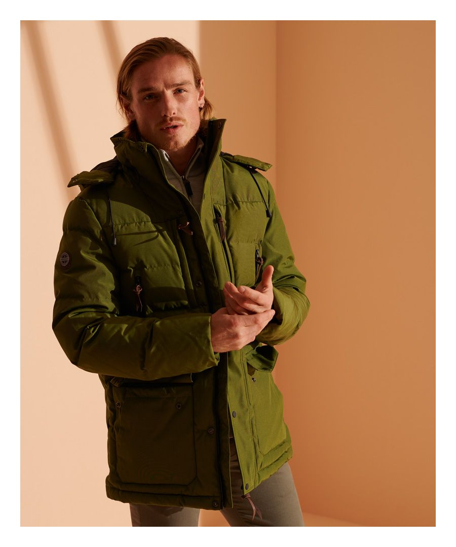 Image for Superdry Expedition Down Parka Coat