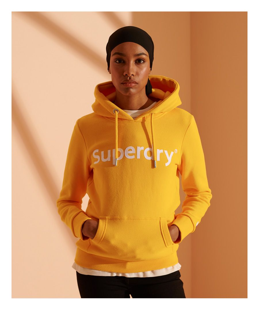 Image for Superdry Registered Flock Hoodie