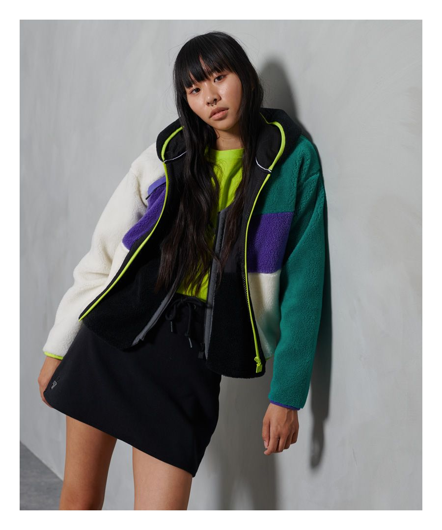 Image for Superdry Sportstyle Energy Sherpa Hoodie