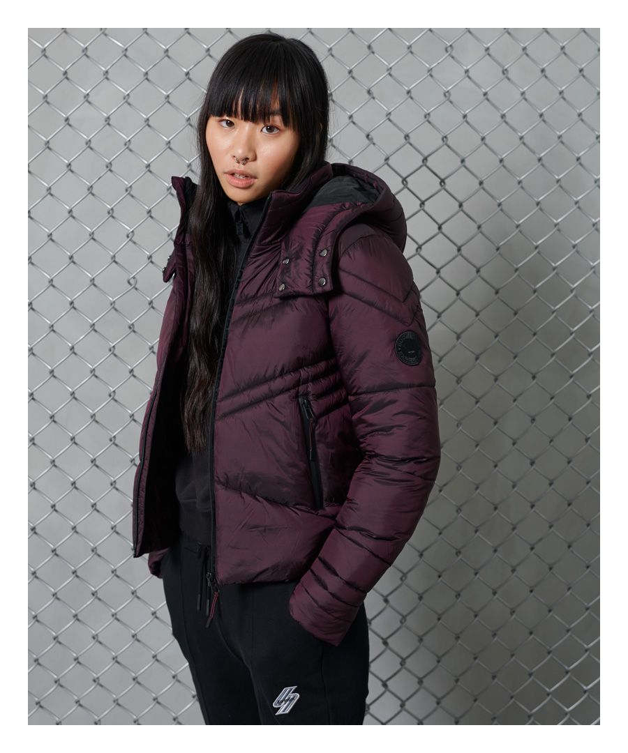 Image for Superdry Geo Luxe Quilt Jacket