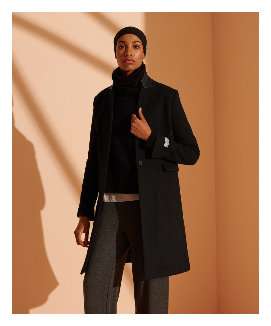 Image for Superdry Arianna Wool Coat