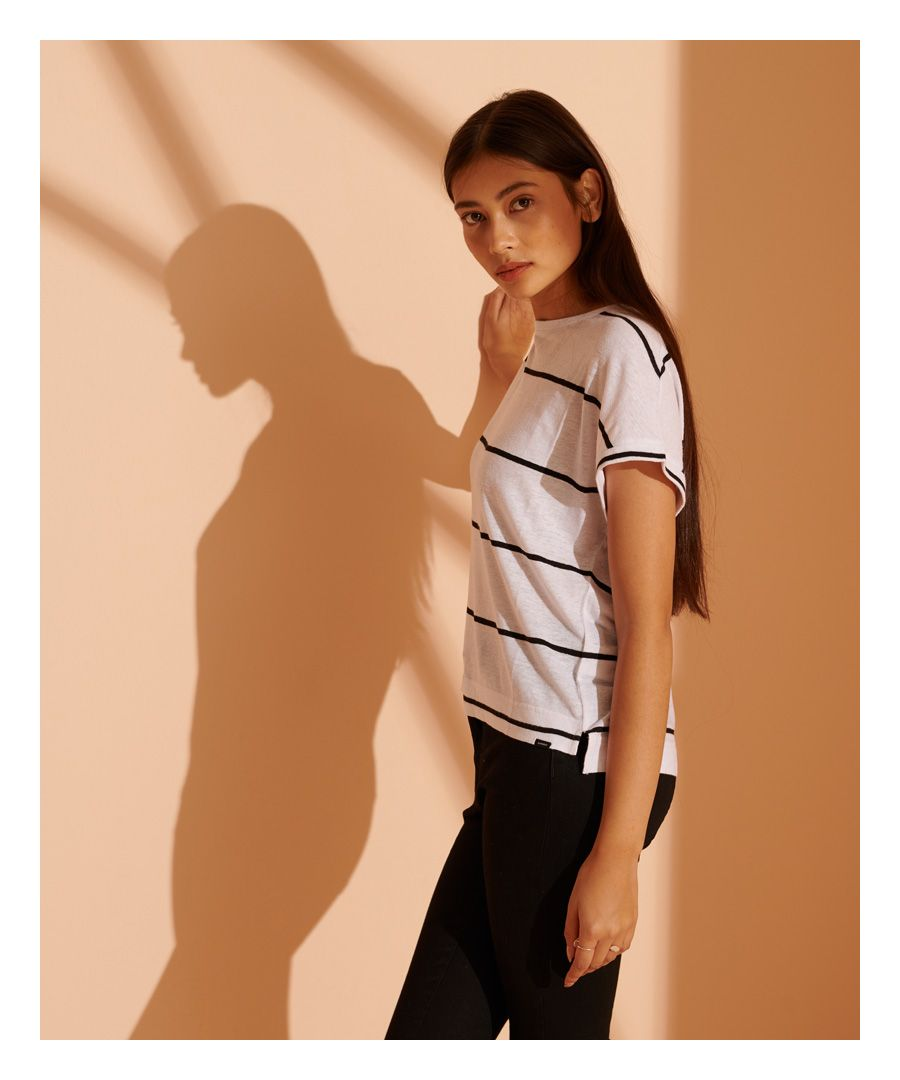 Image for Superdry NYC Linen T-Shirt