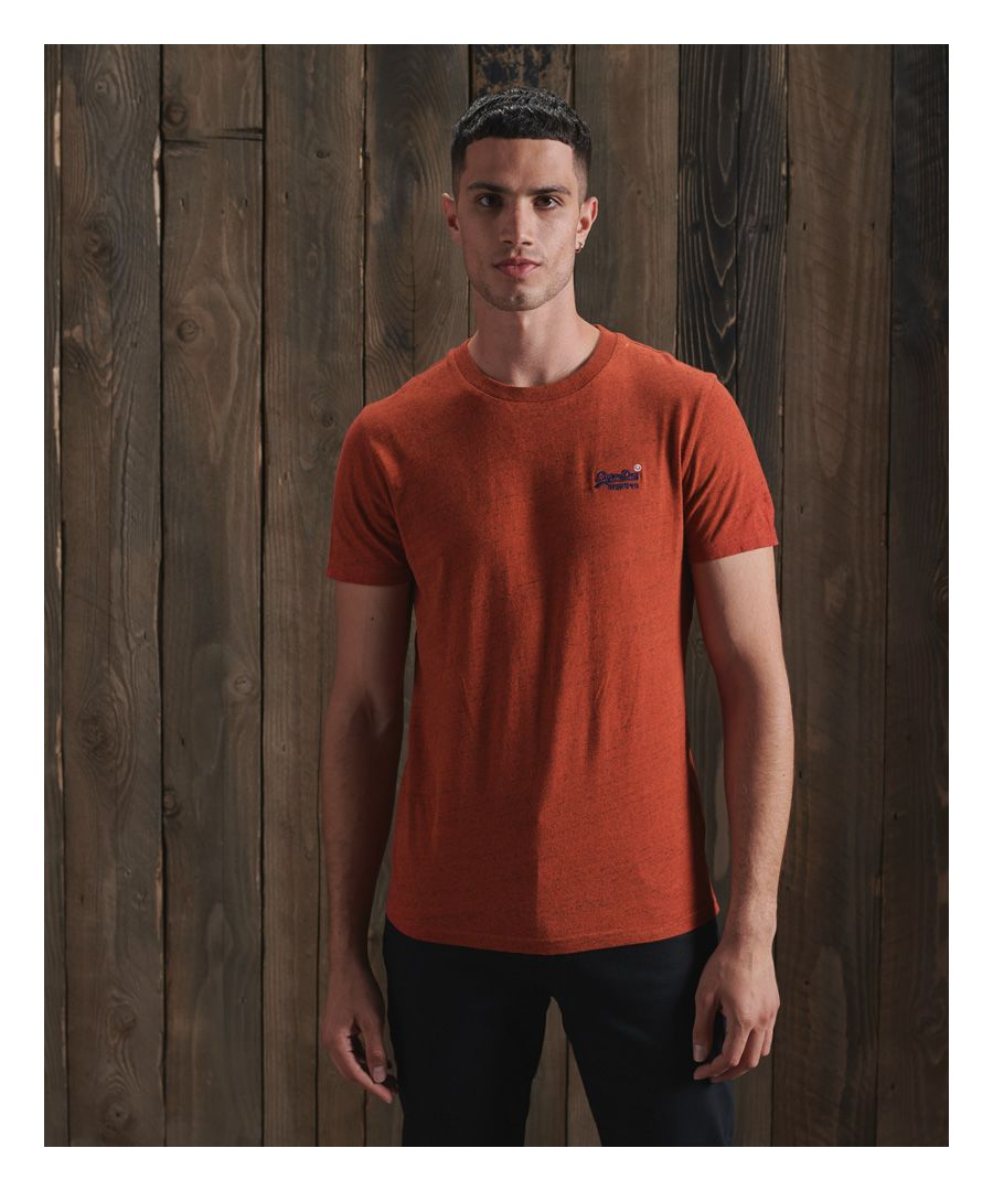 Image for Superdry Organic Cotton Vintage Embroidery T-Shirt