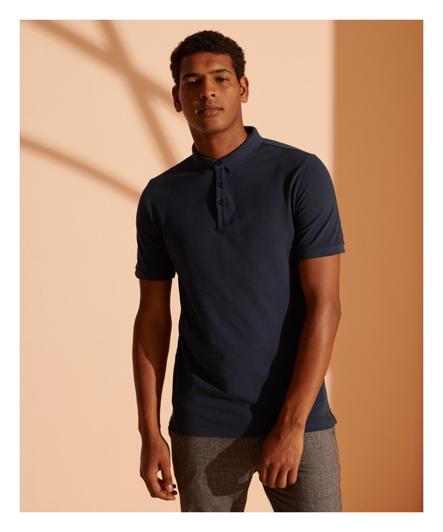 Image for Superdry Refined Pique Polo Shirt