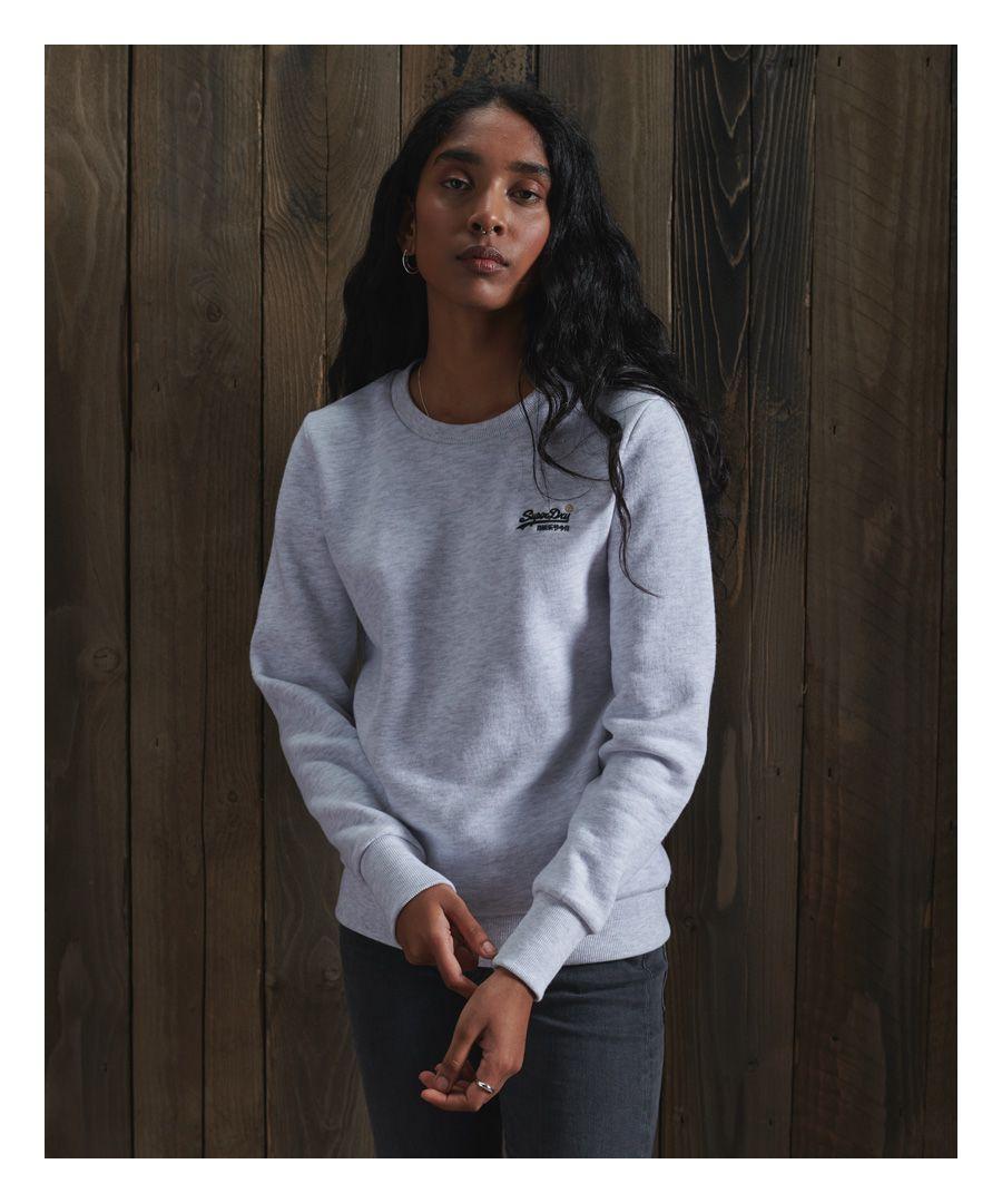 Image for Superdry Orange Label Crew Sweatshirt