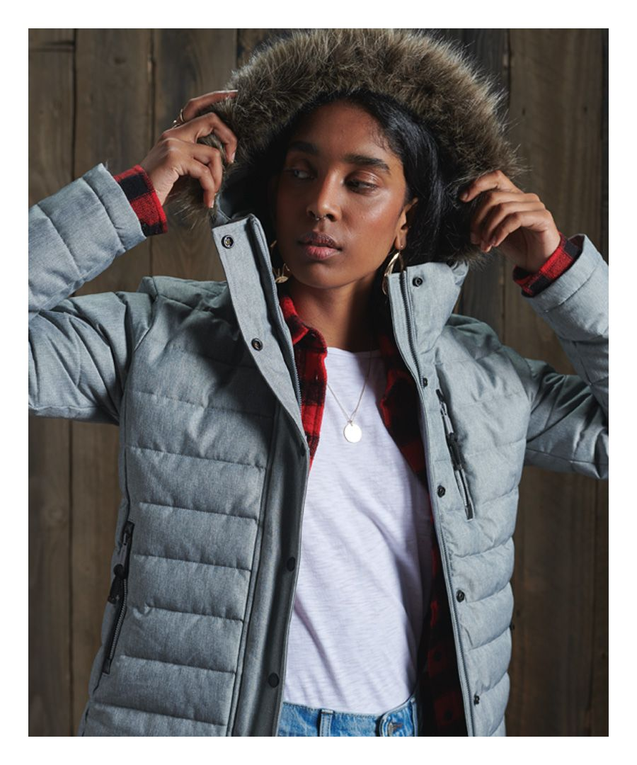 Image for Superdry Tweed Fuji Jacket