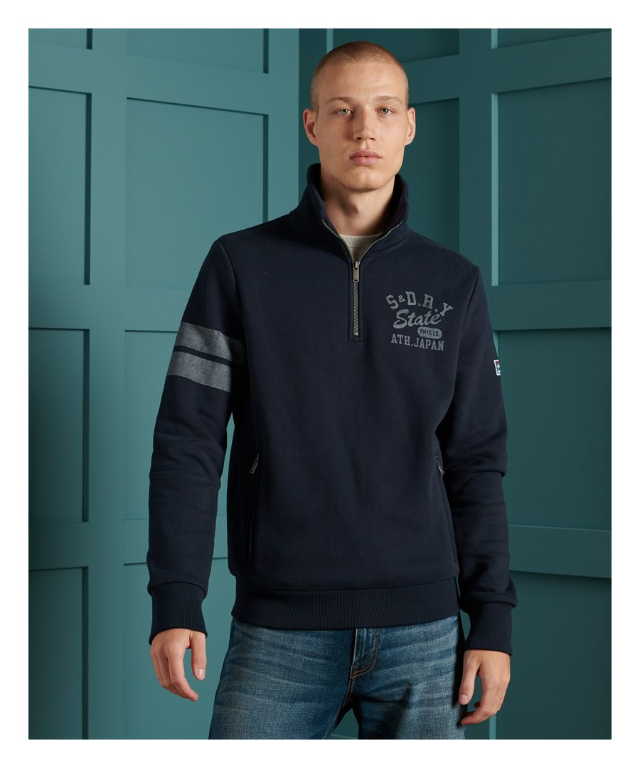 Image for Superdry Track & Field Classic Half Zip Top