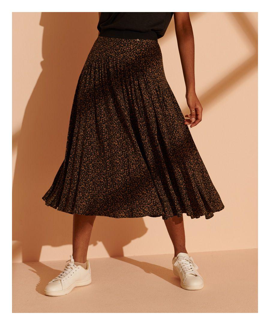 Image for Superdry Ronda Midi Skirt