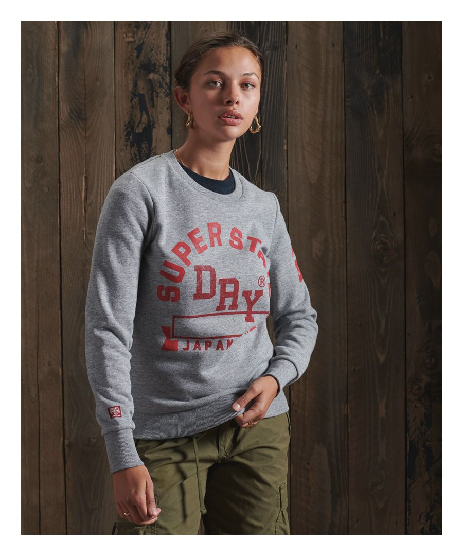 Image for Superdry Track & Field Classic Crew Sweatshirt