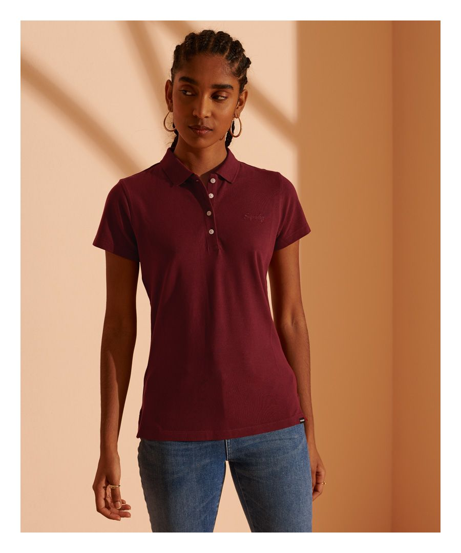 Image for Superdry Scripted Polo Shirt