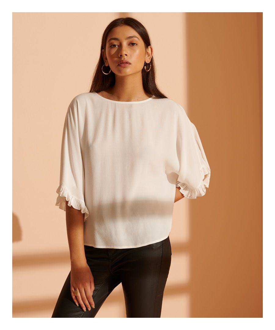 Image for Superdry Lola Wide Sleeve Top