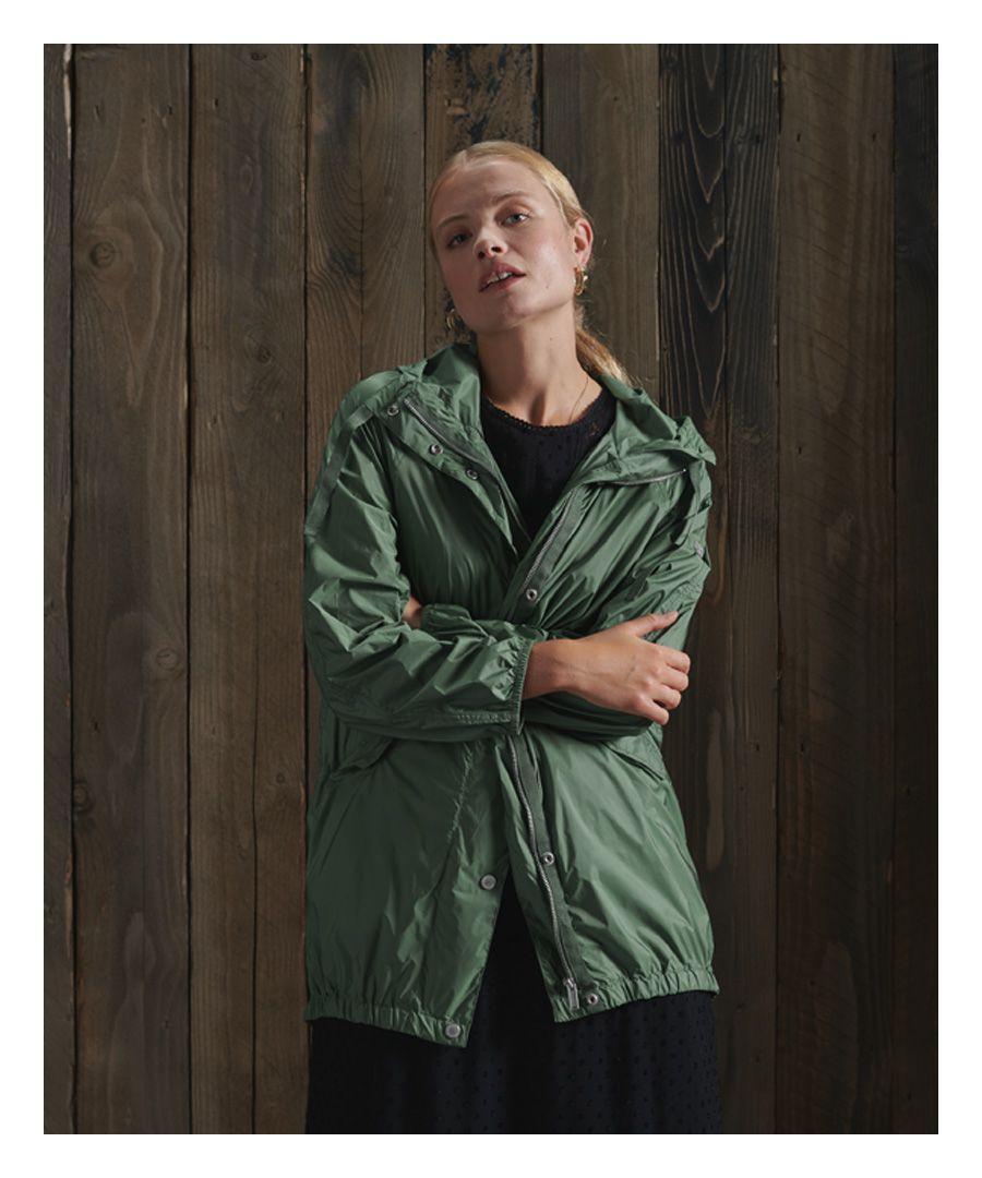 Image for Superdry Essentials Nylon Rookie Parka Coat