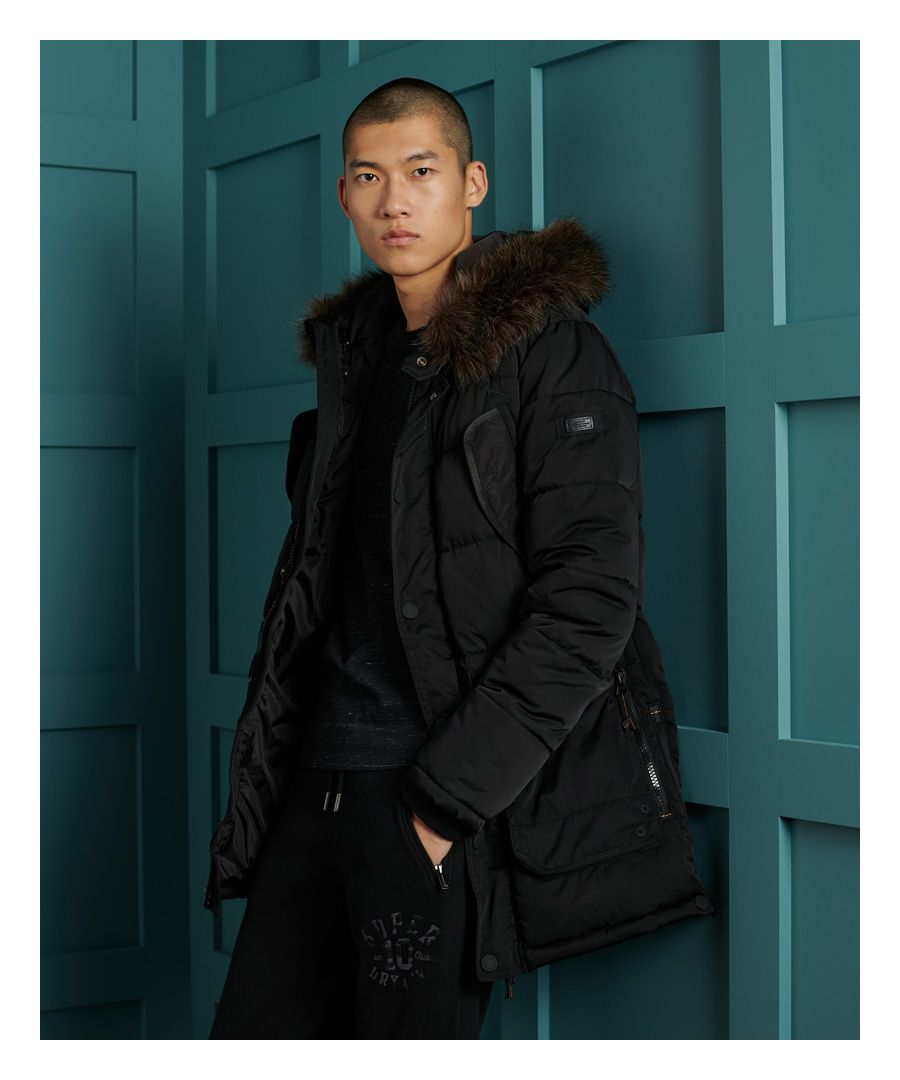 Image for Superdry Chinook Parka Coat