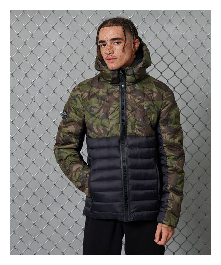 Image for Superdry Radar Quilt Fuji Camo Jacket