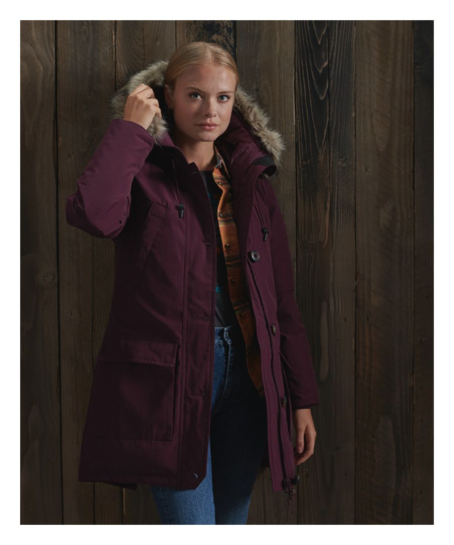 Image for Superdry Rookie Down Parka Coat