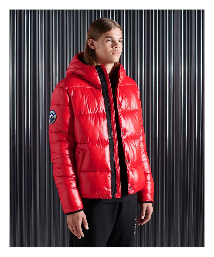 Image for Superdry High Shine Padded Jacket