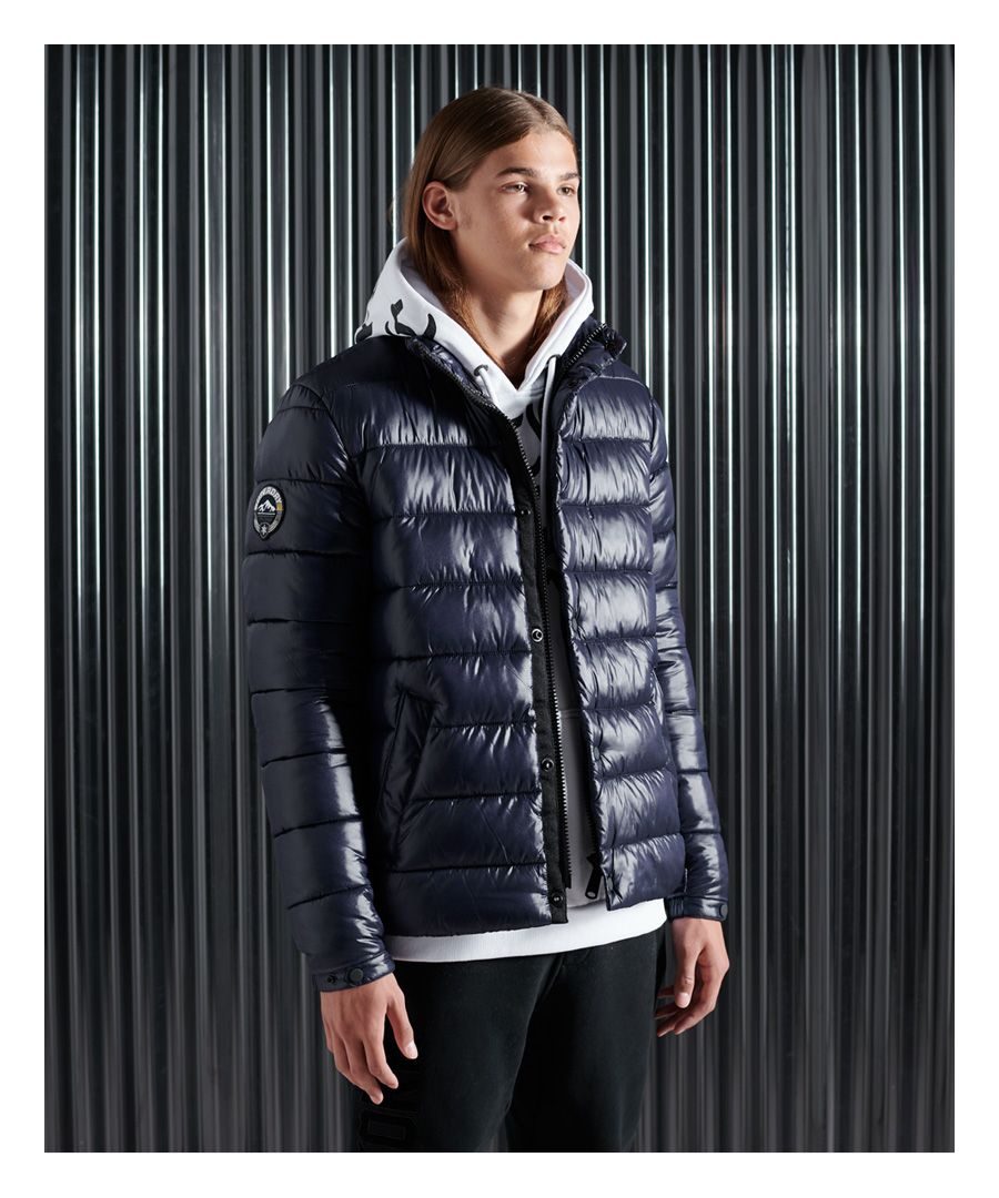 Image for Superdry High Shine Quilted Puffer Jacket