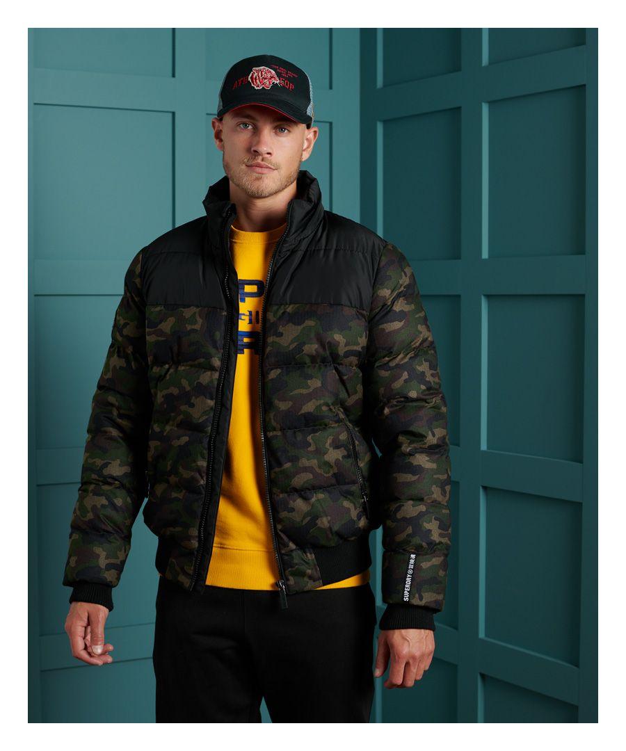 Image for Superdry Track Sport Puffer Jacket
