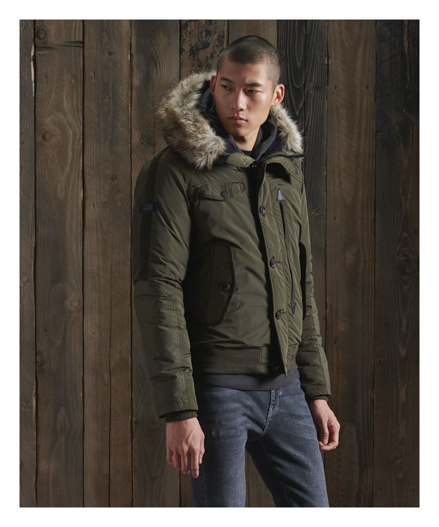 Image for Superdry Chinook Rescue Bomber Jacket