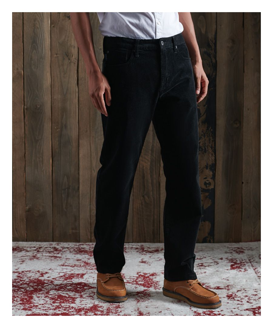 Image for Superdry Straight Cord Five Pocket Trousers