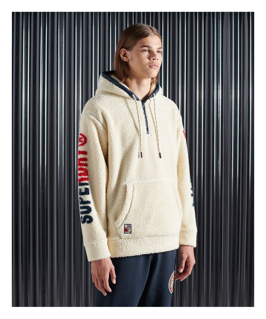 Image for Superdry NYC Sherpa Hoodie