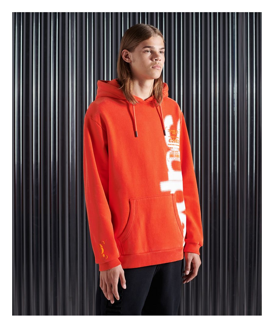 Image for Superdry Super 5 Deconstruct Hoodie