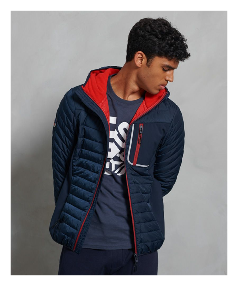 Image for Superdry Convection Hybrid Hooded Jacket