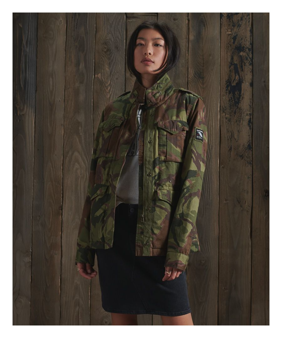 Image for Superdry Classic Rookie Borg Jacket